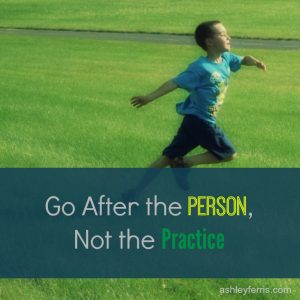go after the person (1)